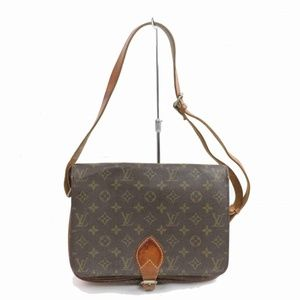 Auth Louis Vuitton Cartouchiere Gm #1515L87